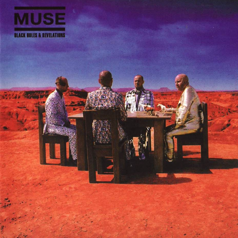 muse black holes and revelations cover art - photo #2